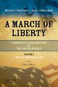 Cover for A March of Liberty