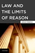 Cover for Law and the Limits of Reason
