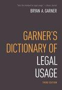 Cover for Garner