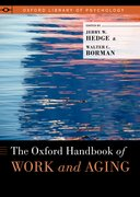Cover for The Oxford Handbook of Work and Aging