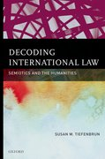 Cover for Decoding International Law