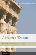 Cover for A Matter of Dispute