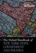 Cover for The Oxford Handbook of New York State Government and Politics