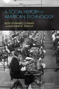 Cover for A Social History of American Technology - 9780195387261