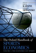 Cover for The Oxford Handbook of Sports Economics