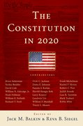 Cover for The Constitution in 2020