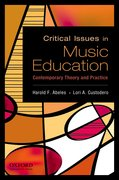 Cover for Critical Issues in Music Education