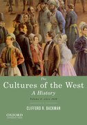 Cover for The Cultures of the West, Volume Two: Since 1350