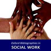 Cover for Oxford Bibliographies in Social Work