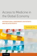 Cover for Access to Medicine in the Global Economy