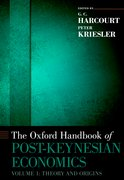 Cover for The Oxford Handbook of Post-Keynesian Economics, Volume 1