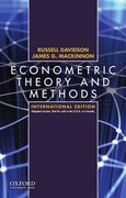 Cover for Econometric Theory and Methods