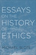 Cover for Essays on the History of Ethics