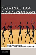 Cover for Criminal Law Conversations