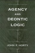 Cover for Agency and Deontic Logic