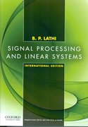 Cover for Signal Processing and Linear Systems