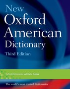 Cover for New Oxford American Dictionary