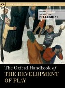 Cover for The Oxford Handbook of the Development of Play