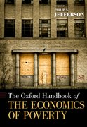 Cover for The Oxford Handbook of the Economics of Poverty