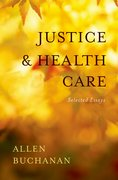 Cover for Justice and Health Care