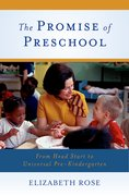 Cover for The Promise of Preschool