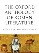 Cover for The Oxford Anthology of Roman Literature