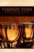 Cover for Timpani Tone and the Interpretation of Baroque and Classical Music