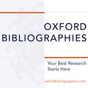 Cover for Oxford Bibliographies in Medieval Studies