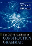 Cover for The Oxford Handbook of Construction Grammar