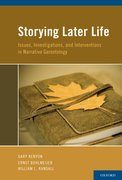 Cover for Storying Later Life