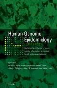 Cover for Human Genome Epidemiology, 2nd Edition