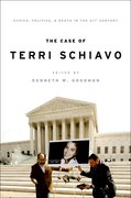 Cover for The Case of Terri Schiavo