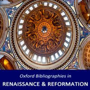Cover for Oxford Bibliographies in Renaissance and Reformation