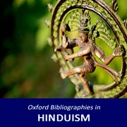 Cover for Oxford Bibliographies in Hinduism