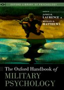 Cover for The Oxford Handbook of Military Psychology