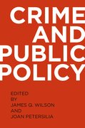Cover for Crime and Public Policy