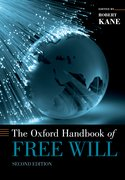 Cover for The Oxford Handbook of Free Will