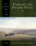 Cover for Forging the Prairie West