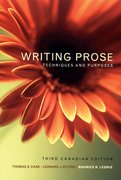 Cover for Writing Prose