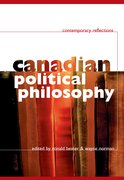 Cover for Canadian Political Philosophy