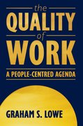 Cover for The Quality of Work