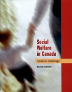 Cover for Social Welfare in Canada