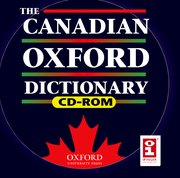 Cover for The Canadian Oxford Dictionary on CD-ROM