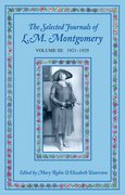 Cover for The Selected Journals of L.M. Montgomery, Volume III: 1921-1929