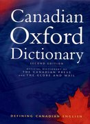 Cover for Canadian Oxford Dictionary