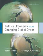 Cover for Political Economy and the Changing Global Order