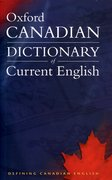 Cover for Canadian Oxford Dictionary of Current English