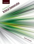 Cover for Readings for Technical Communication