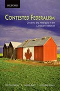 Cover for Contested Federalism