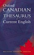 Cover for Oxford Canadian Thesaurus of Current English
